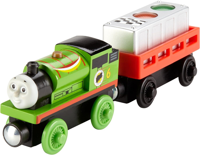 jouet pour enfant 2 ans et plus Thomas et ses amis locomotive en bois Spencer FHM42