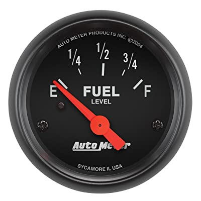 AUTO METER 2641 Z-Series Electric Fuel Level Gauge: Automotive