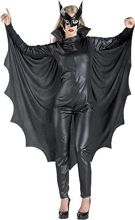 chiber Disfraces Disfraz de Mujer Murcielago con alas: Amazon.es ...
