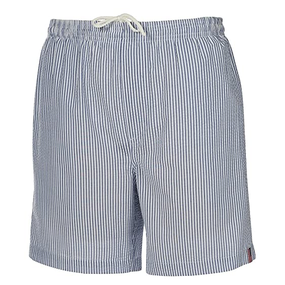 6729451375 Weekender® Men's Suffolk Seersucker Swim Shorts (Small, Royal)
