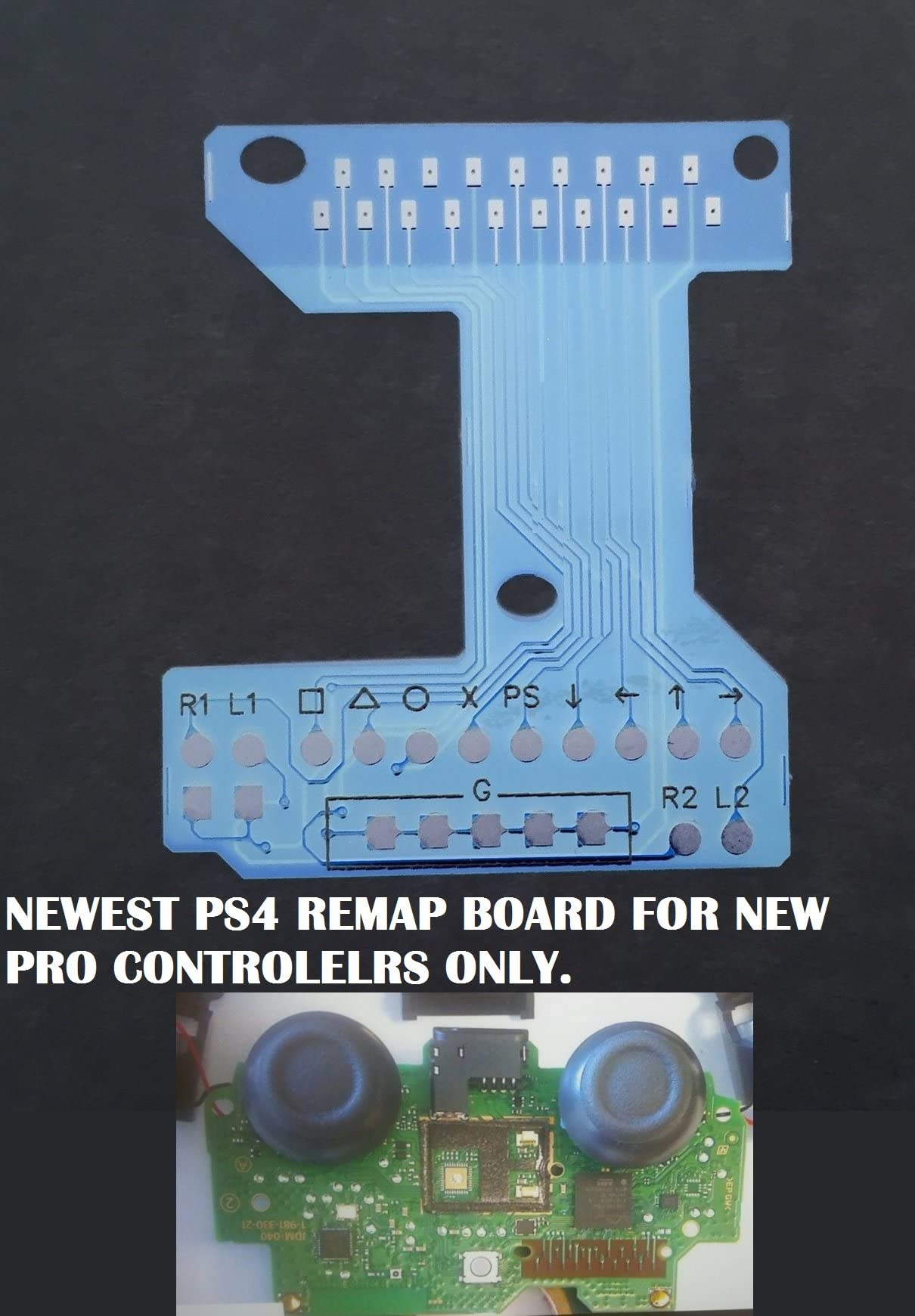 Amazon.com: NEW Playstation 4 Dualshock 4 Flex Board / Remap Chip ...