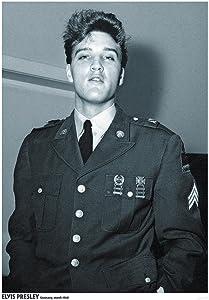 Elvis Presley Germany March 1960 Music Album Rock Roll Vintage Cool Wall Decor Art Print Poster 23.5x33