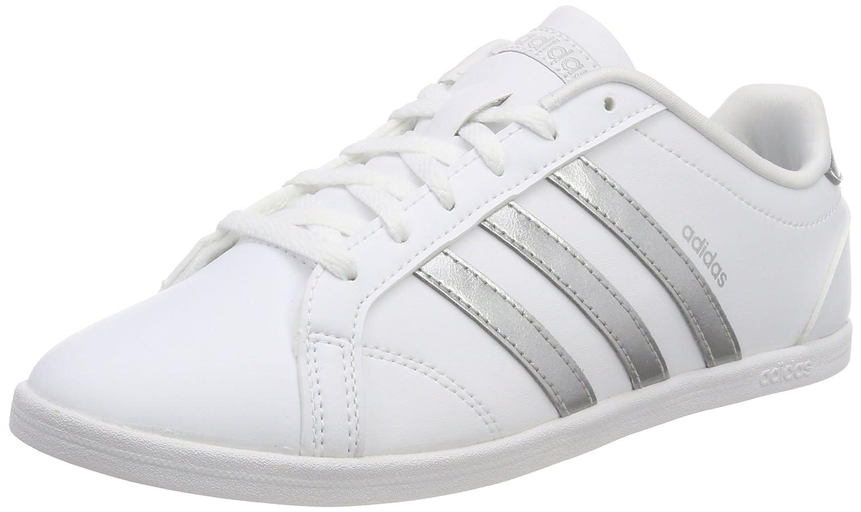 Adidas Vs Coneo QT, Zapatillas para Mujer 38 2/3 EU|Blanco (Ftwr White/Matte Silver/Ftwr White)