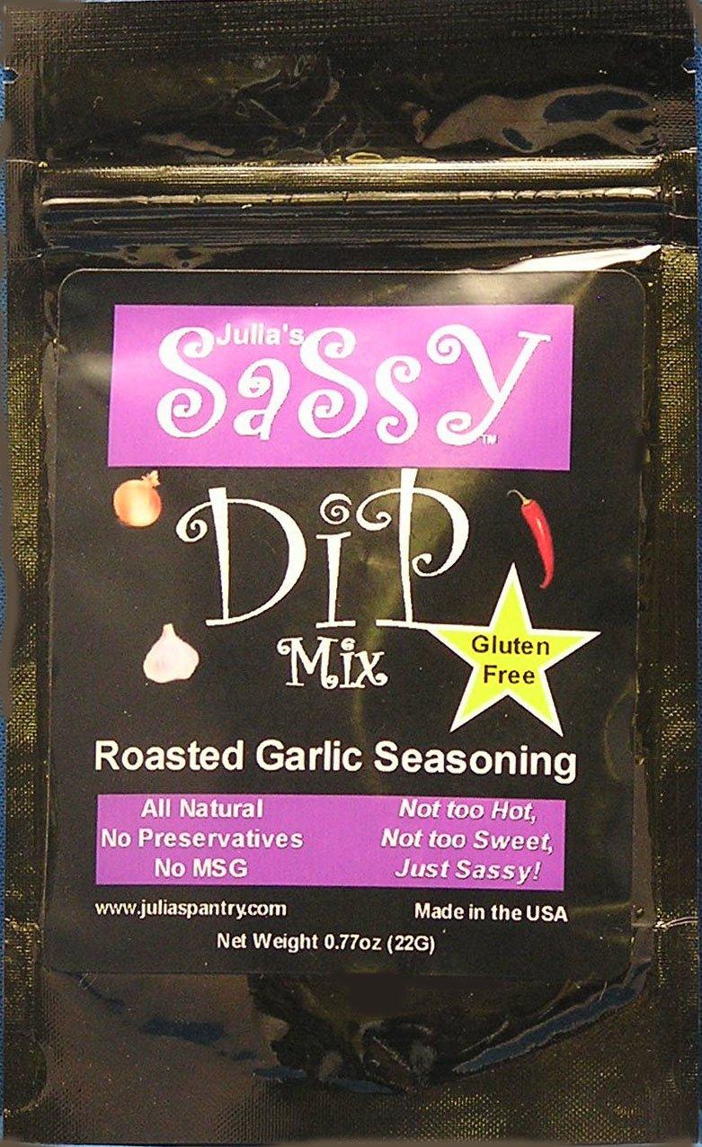 Julia's Sassy Roasted Garlic Dip Mix Pack of 4 by Julia's Pantry