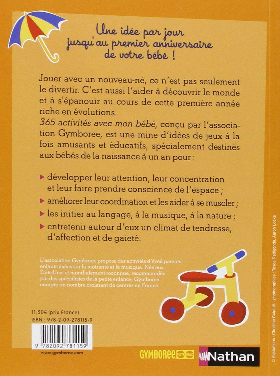 365 activités avec mon bébé - pédagogie Montessori: Amazon.fr: Dr Masi, Dr  Cohen Leiderman: Livres