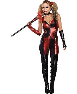 137ae317d4613 Amazon.com: Secret Wishes Batman Arkham City Sexy Harley Quinn ...