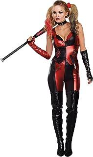 Dreamgirl Womenu0027s Harlequin Blaster Costume  sc 1 st  Amazon.com & Amazon.com: Secret Wishes Batman Arkham City Sexy Harley Quinn ...