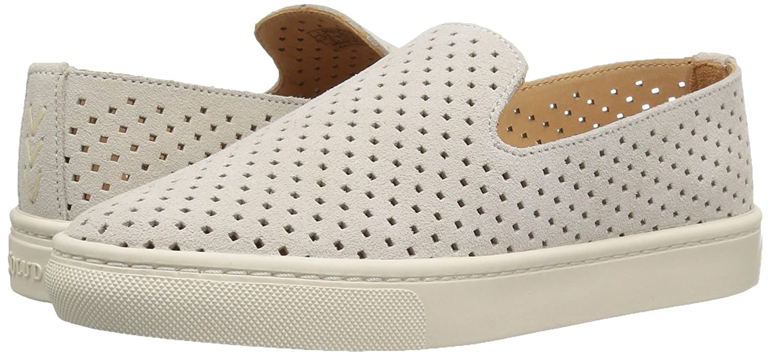 73fab2b4be51 Amazon.com | Soludos Women's Perforated Slip On Sneaker Flat, Seashell, 9 B  US | Shoes