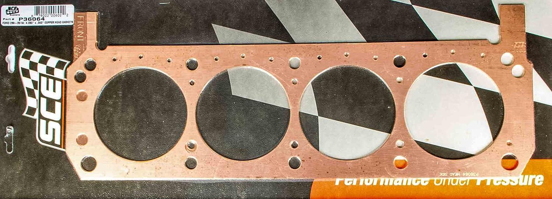 SCE Gaskets P36065 SBF Copper Head Gaskets 4.060 x.051