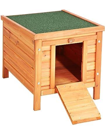 VivaPet Gato/Perro/Conejo/Guinea Pig de Madera Hide casa – 50 x