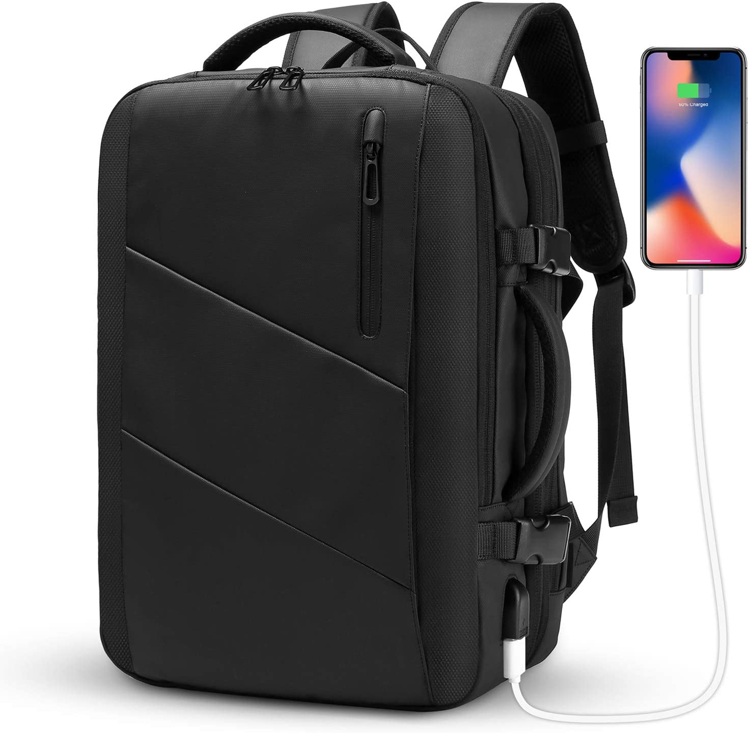 The Travel Backpack,WUAYUR 15.6inch Anti Theft Laptop Backpack travel product recommended by Jessie Synan on Lifney.