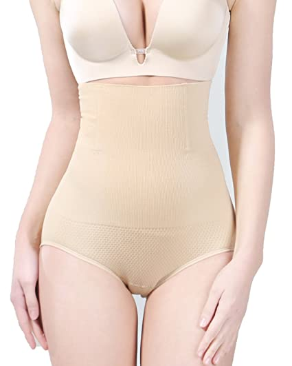 c70a9d504b KOOCHY High Waist Tummy Control Body Shaper Sexy Comfortable Seamless Butt  Lifter Panties for Women(