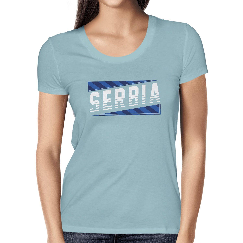 Texlab Team Serbia Camiseta, Mujer: Amazon.es: Deportes y aire libre