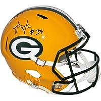 $260 » Josh Jackson (Green Bay Packers) Autographed Helmet - Full Size Speed - JSA Certified - Autographed NFL Helmets