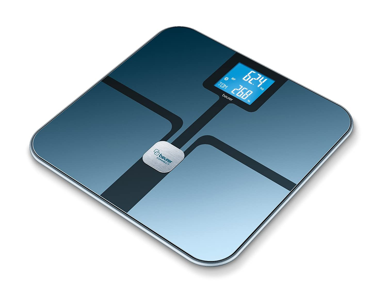 Beurer BF800BLK Health Manager Diagnostic Bathroom Scales with Bluetooth Smart 748.22
