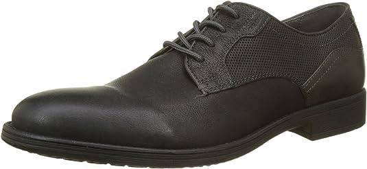TALLA 44 EU. Geox U Jaylon E, Zapatos de Cordones Derby Hombre