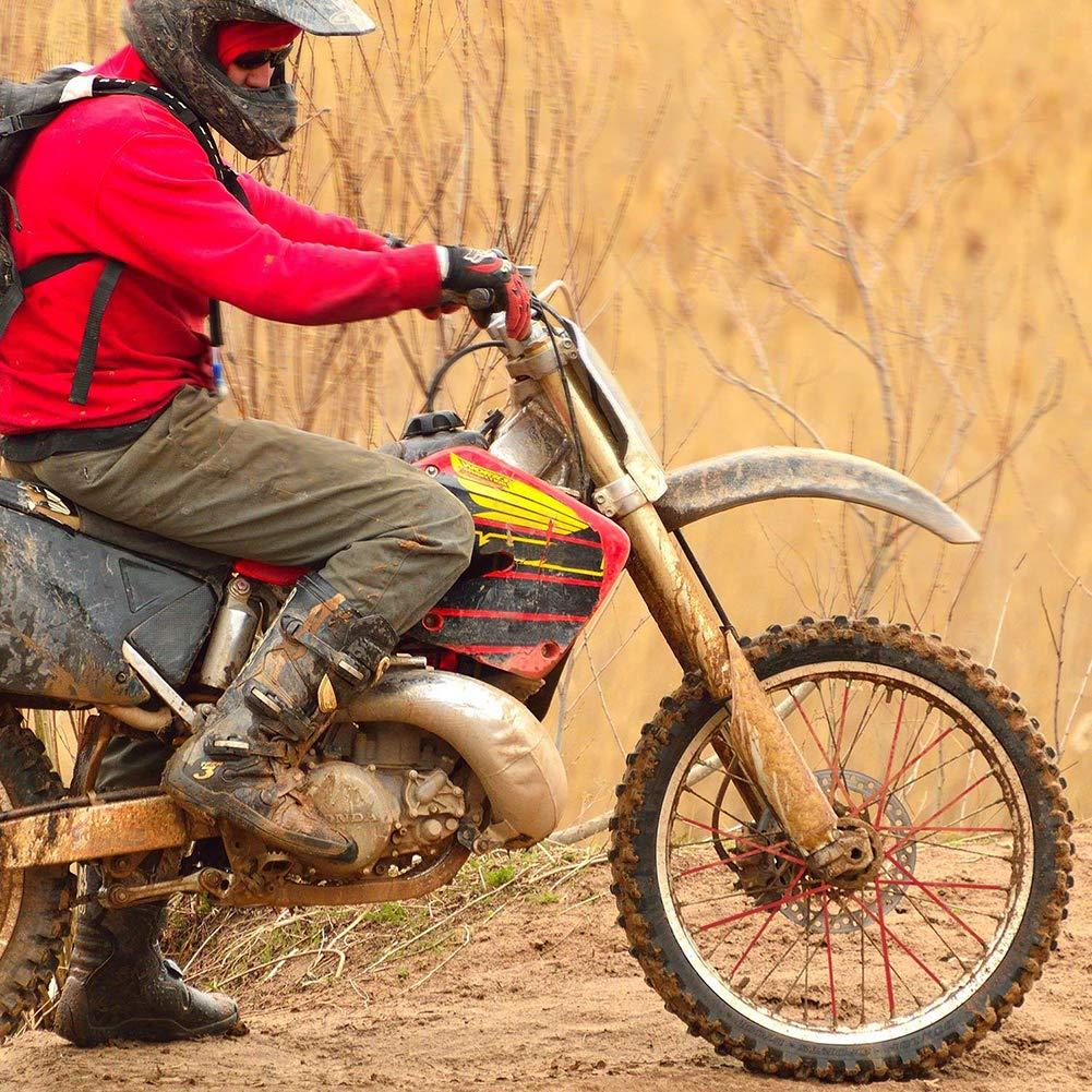 AC 72 Pcs Universal Motocross Motorcycle Spoke Skins Covers Bicycle Dirt Bike Wheel Spoke Wraps Outdoor Riding Cycling Spoke Sleeve Spoke Decorative Protective Wraps