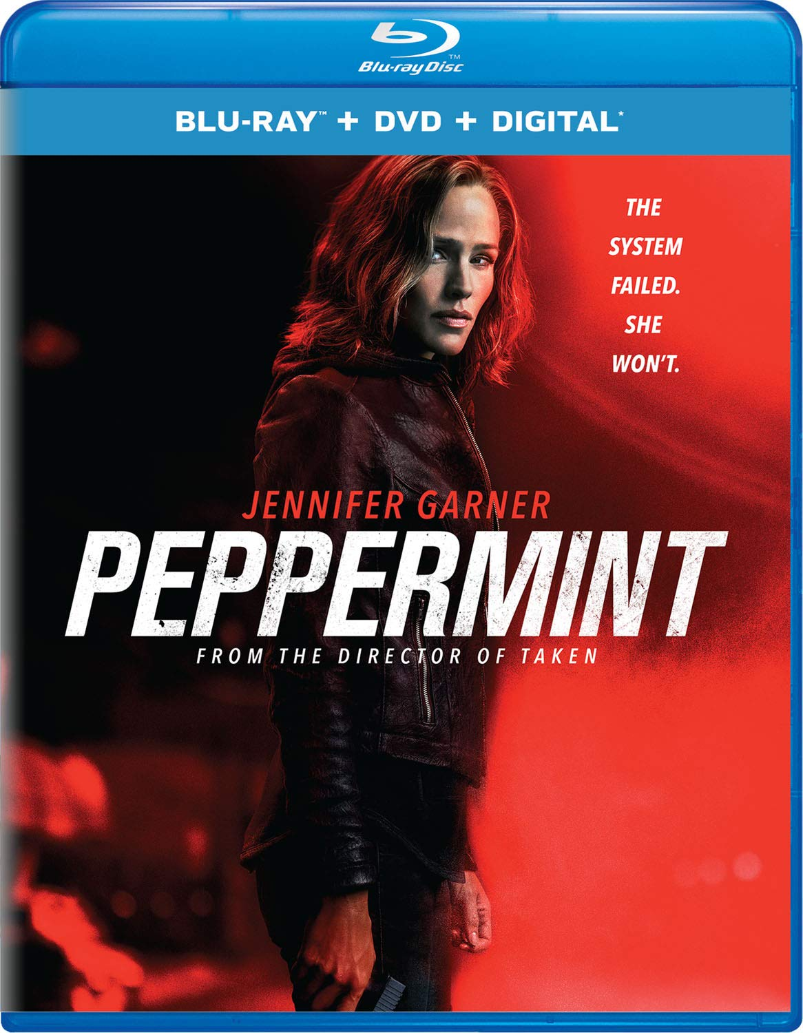 Blu-ray : Peppermint (With DVD, 2 Pack, Digital Copy)