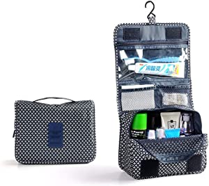 AKIMPE Cosmetic Storage Bag Foldable Large Cubes Collapsible Fabric Organizer Box Containers Rack Bins Basket Tote with Dual Handles for Home Nursery Office Toys Closet Shelf Drawer Kitchen Bathroom