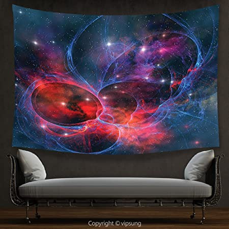Vipsung House Decor Tapestry Space Decorations Nebula Gas Celestial