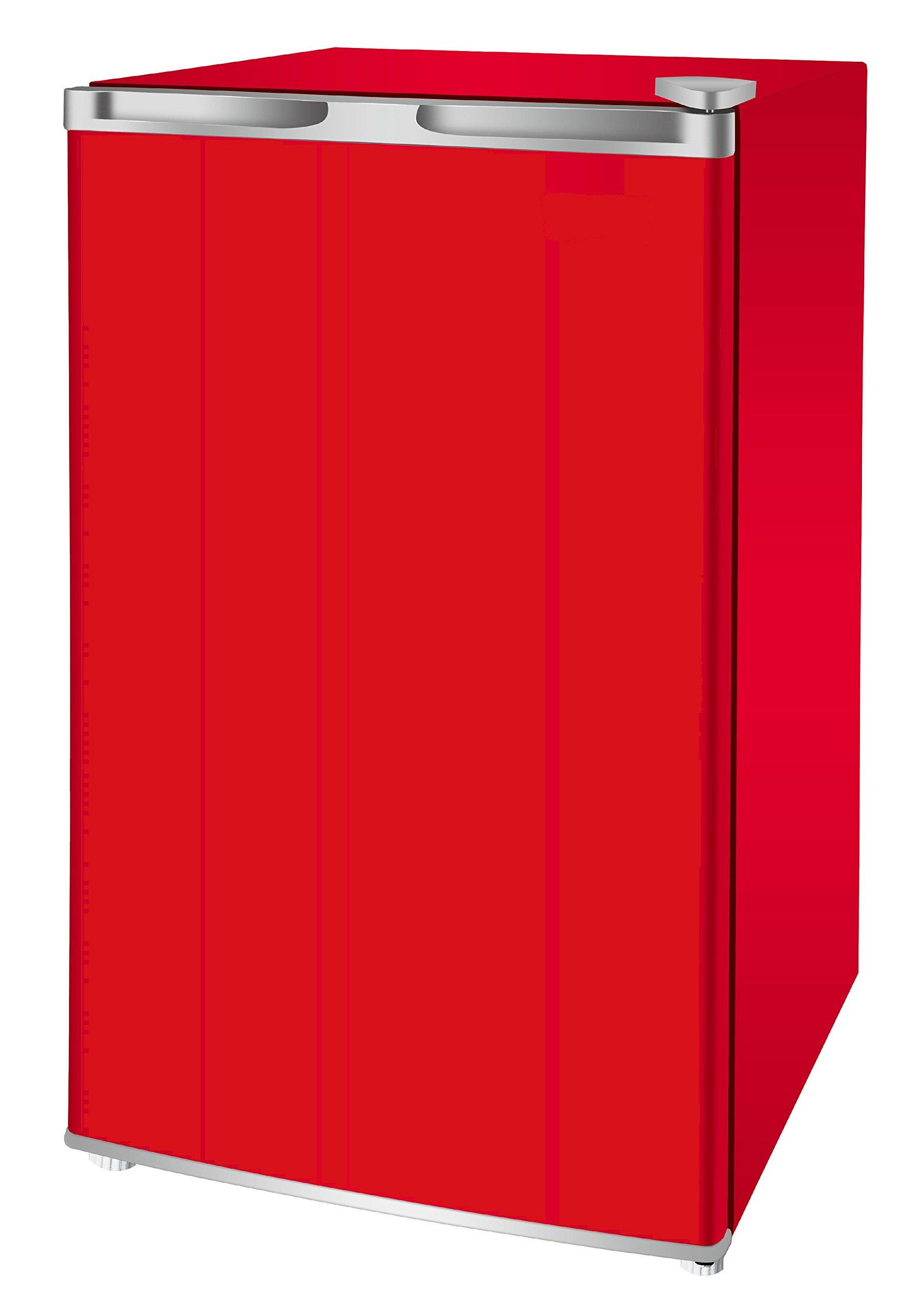 RCA RFR321-FR320/8 IGLOO Mini Refrigerator, 3.2 Cu Ft Fridge, Red