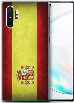 eSwish Carcasa/Funda TPU/Gel para el Samsung Galaxy Note 10+/Plus/5G / Serie: Banderas: Amazon.es: Electrónica