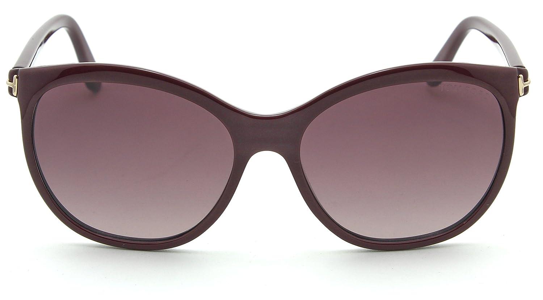 f18861b162 Amazon.com  Tom Ford FT 0568 GERALDINE-02 Women Oval Gradient Sunglasses  69T  Clothing