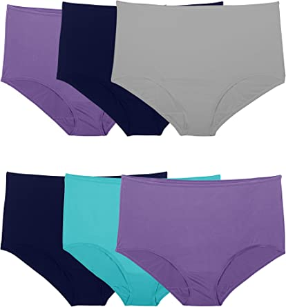 Fruit of the Loom Women's Microfiber Panties (Regular & Plus Size)