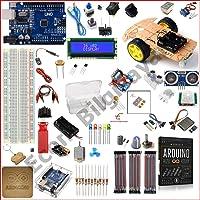 Arduino Başlangıç Seti Uno R3 2WD 103 Parça 324 Adet