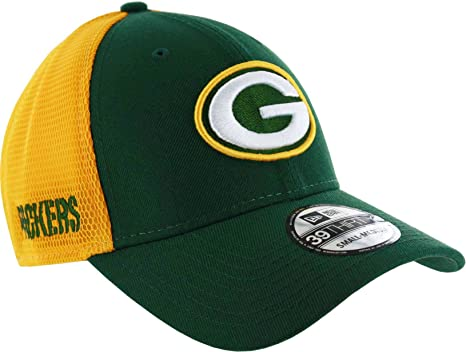 Image Unavailable. Image not available for. Color  New Era Green Bay  Packers NFL 39THIRTY 2T Sided Flex Fit Meshback Hat 6b884473f