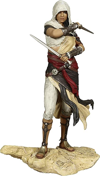 Assassin S Creed Origins Bayek Figurine Amazon Co Uk Pc Video