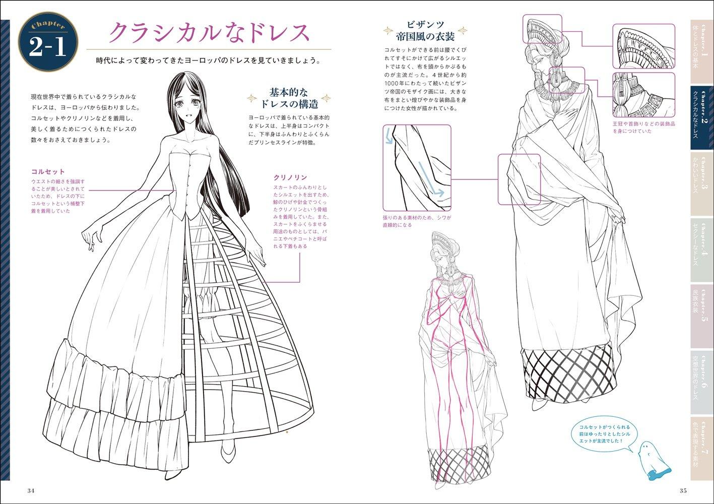 ドレスの描き方 超描けるシリーズ Kyachi 本 通販 Amazon