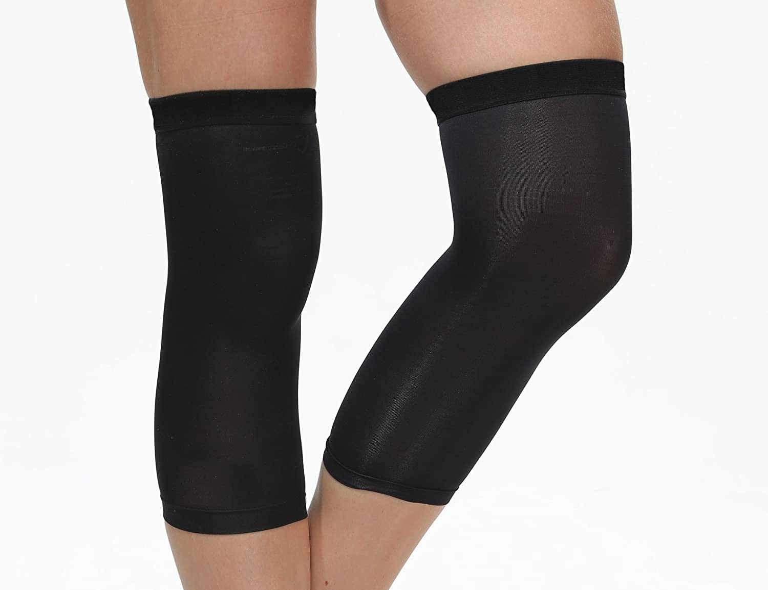 92e2f71174 Amazon.com: Copper Compression Knee Sleeve 88% Copper Embedded Nylon; 12%  Spandex; Comfortable/Gentle Recovery to sore,aching,stiff,painful muscles  and ...
