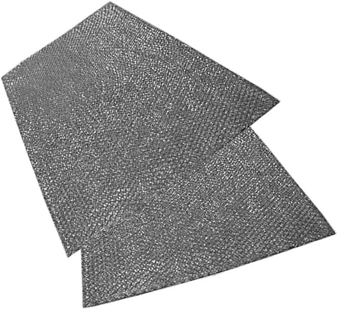 aluminio, 2 unidades Spares2go Extractor de rejilla de ventilaci/ón