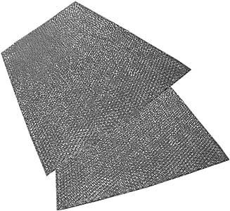 Spares2go grande aluminio malla filtro para Candy Campana Extractora/ Extractor Ventilación (Pack de 2 filtros, 92 x 47 cm): Amazon.es: Hogar