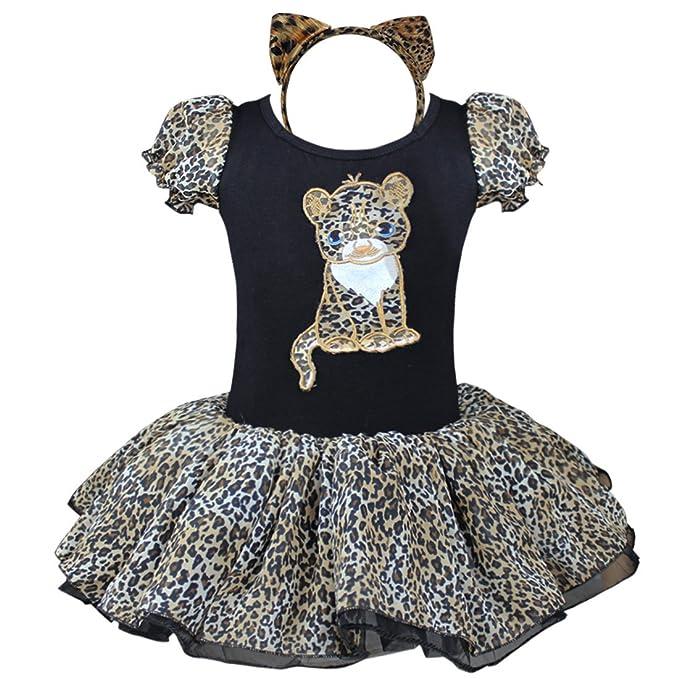 tiao Bug vestido de niña ballet vestido gato Disfraz Para Niños ...