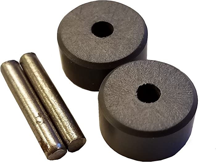 Bill's precision parts Replacement Front Wheel/Roller Set for Shark Vacuum Cleaners