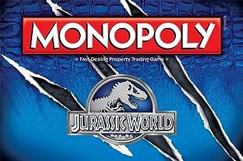 Monopoly: Jurassic World Edition: USAopoly: Amazon.es: Juguetes y juegos