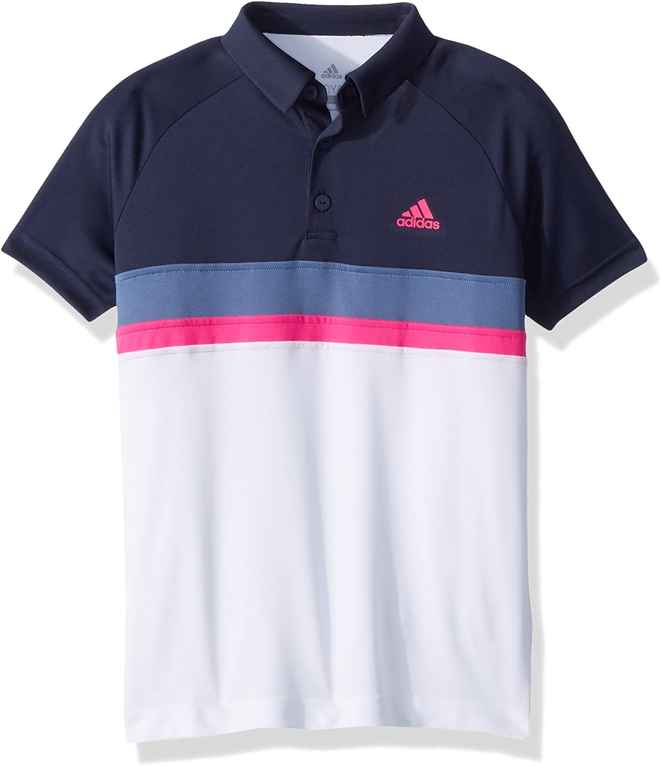 adidas Tennis Club Color Block Polo, Legend Ink, Large para Niños ...