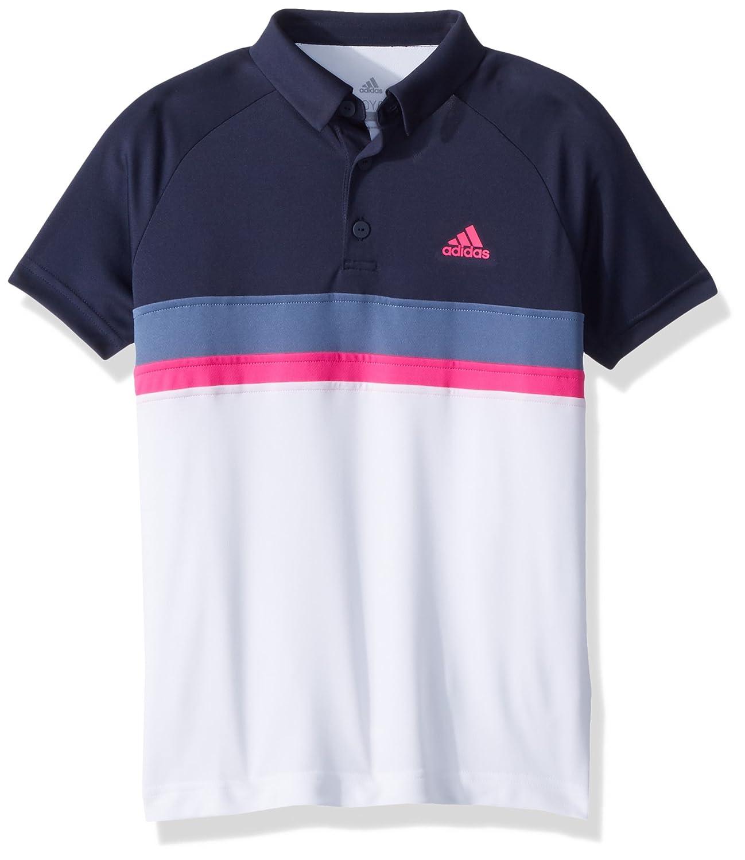 adidas Tennis Club Color Block Polo, Legend Ink, Large para Niños ...