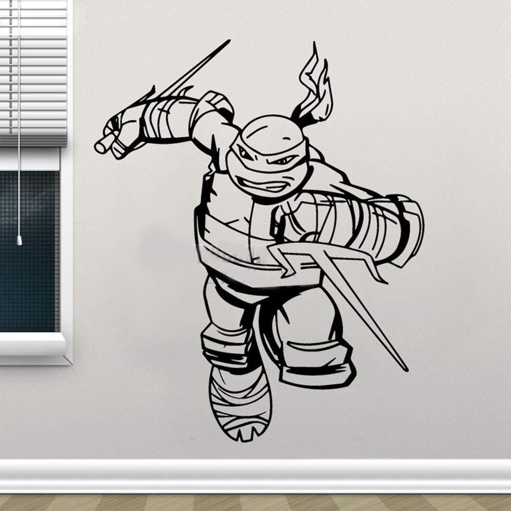 pegatina de pared frases Tortugas ninja tatuajes de pared ...