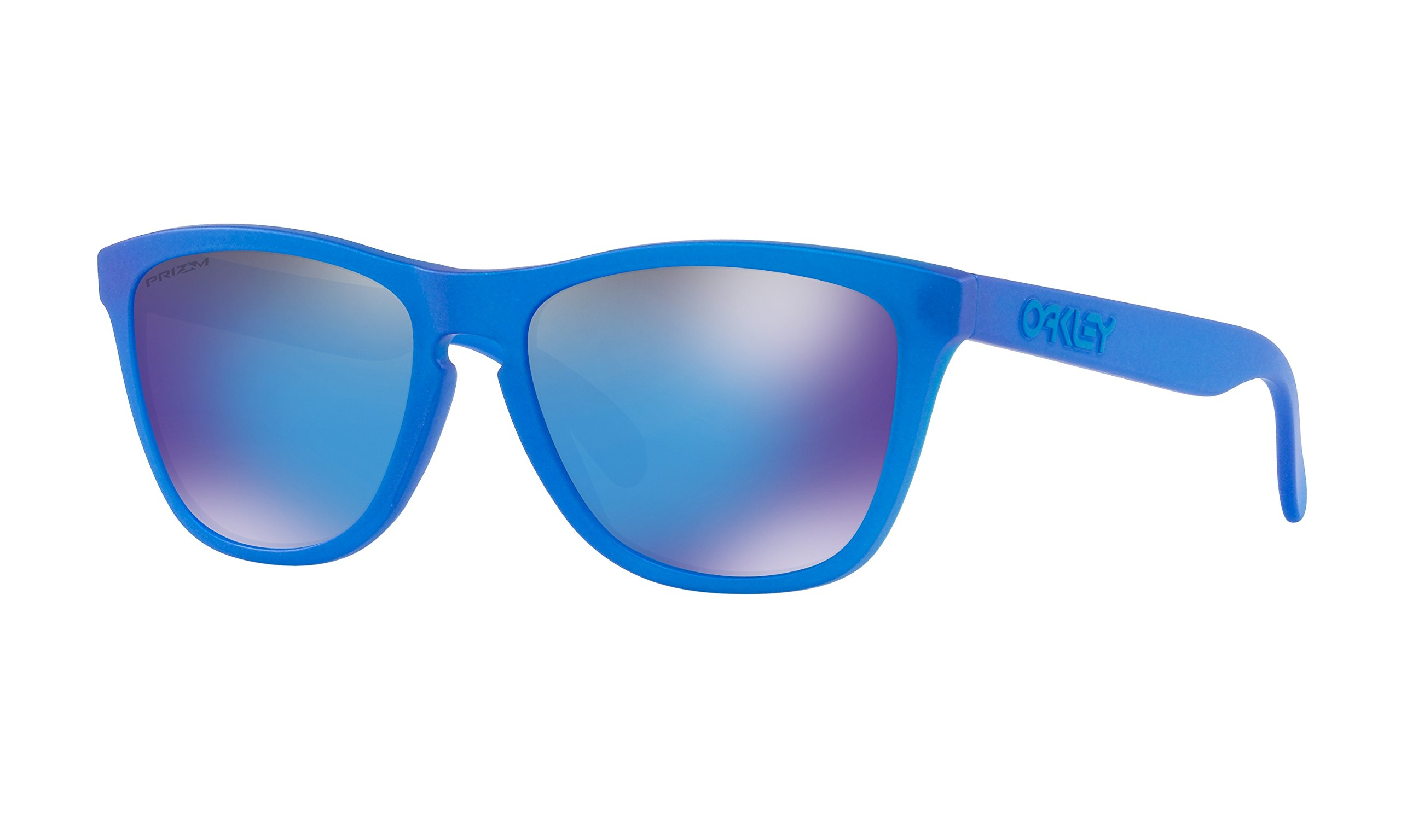 Oakley Frogskins Sunglasses X-Ray Blue with Prizm Sapphire Iridium Lens + Sticker