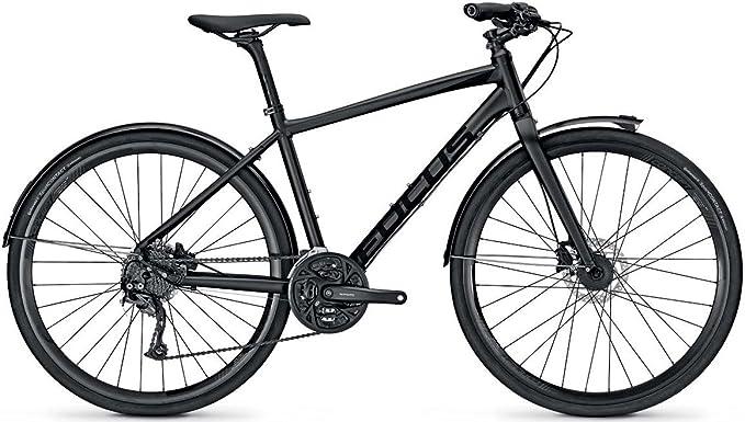 Focus Planet Lite Plus Urban Bike 2016, Color - Negro, tamaño XL/54cm, tamaño de Rueda 28.00 Inches: Amazon.es: Deportes y aire libre