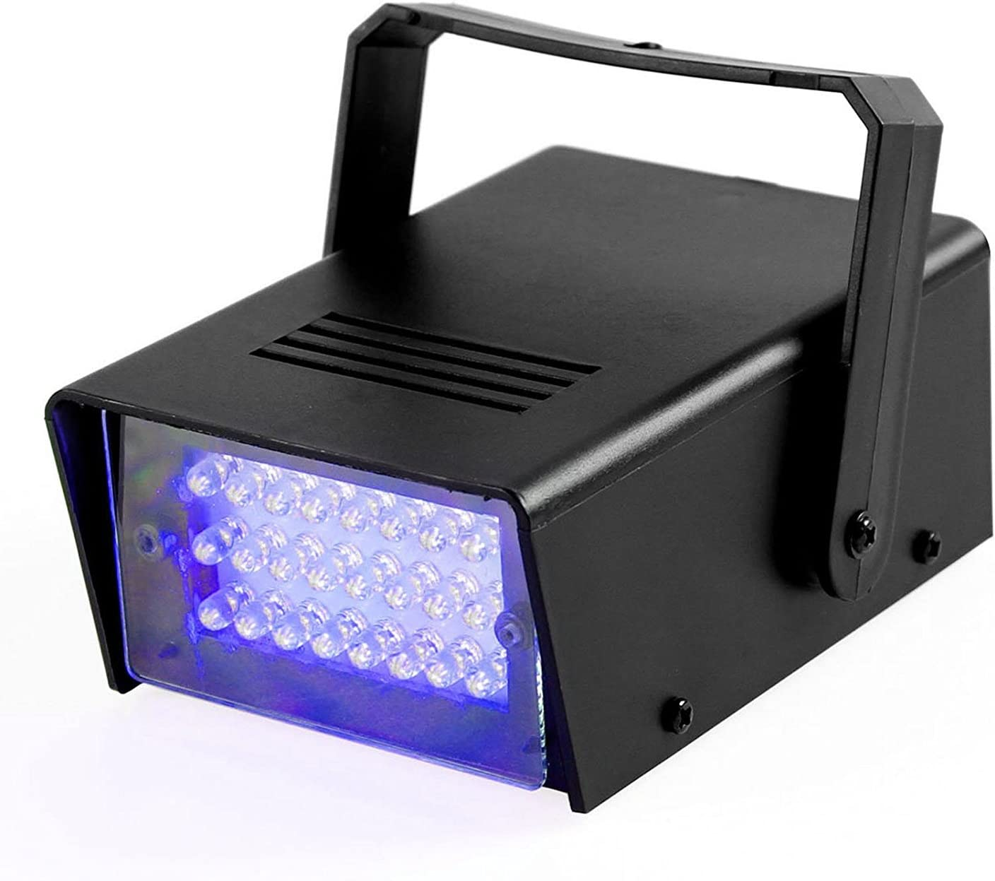 American DJ S81 LED White Compact Variable Speed Mini-Strobe Lighting Effect With Variable Speed Knob