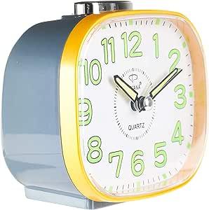 Dojana DA12011 Desk Clock - Multi Color, AAA, Plastic