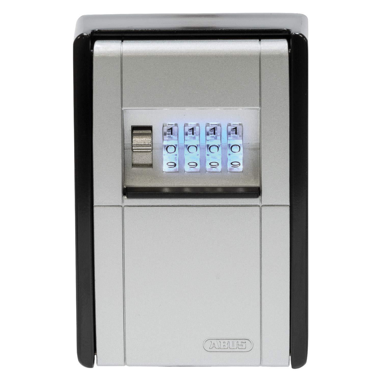 schwarz passend f/ür Schl/üssel und Plastikkarten ABUS Schl/üsseltresor KeyGarage 797 LED mit B/ügelhalterung 83855 wetterfest individuell einstellbarer Zahlencode