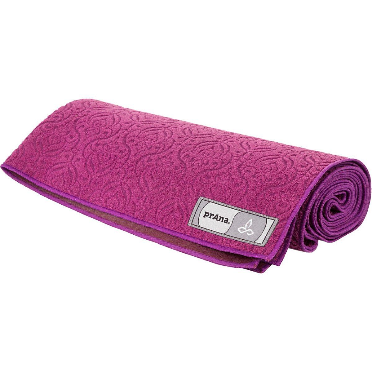 Amazon.com : prAna Synergy Towel Mat Pomegranate, One Size ...
