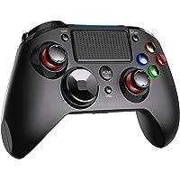 PS4 Controller PICTEK PS4-kontroll trådlös joystick, dubbel vibration, turbo, ljudport med LED-lampa, 16 H-spelkontroll…