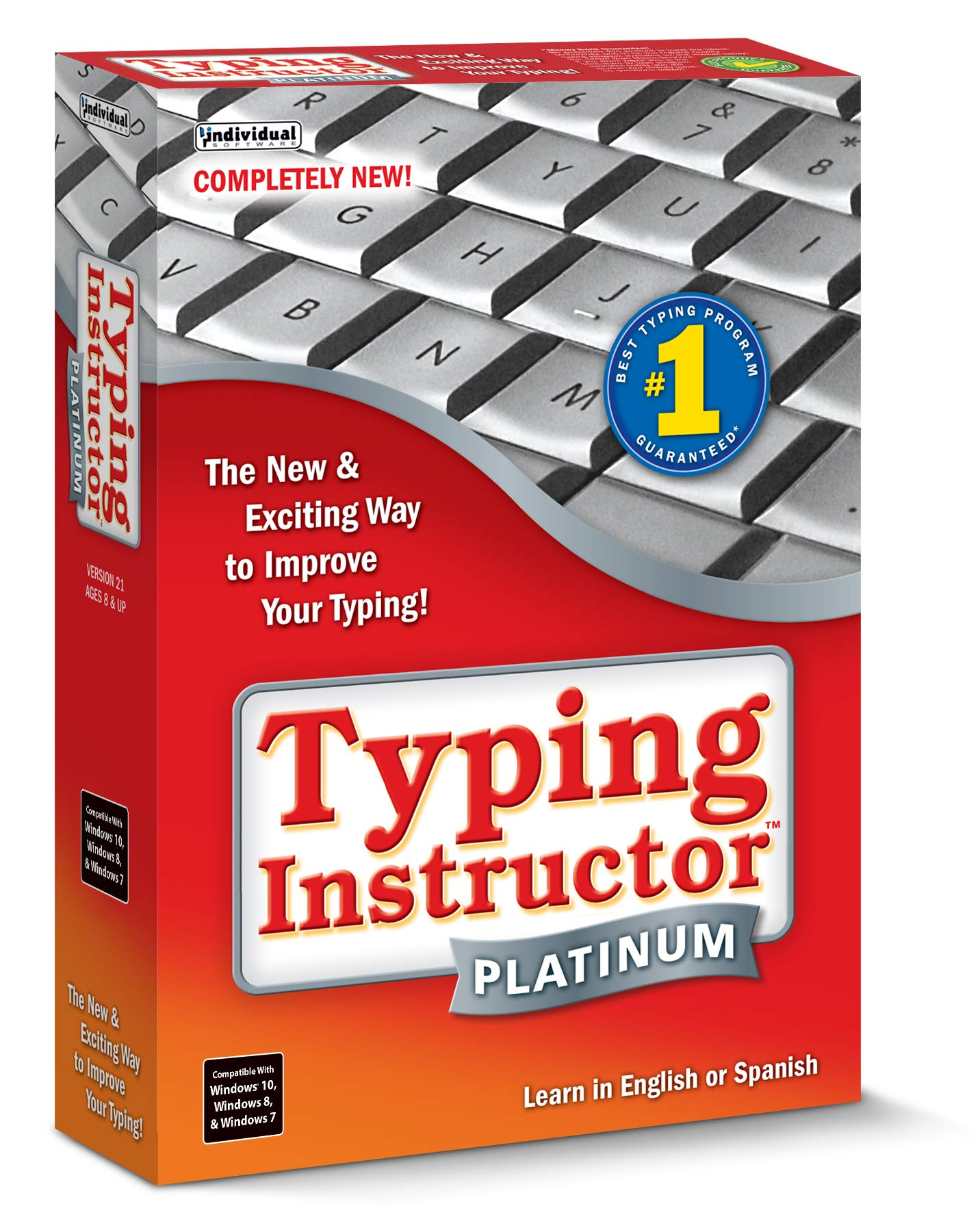 Typing Instructor Platinum 21 by Individual Software