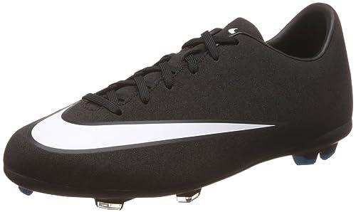 Nike CR7 Jr Mercurial Victory V FG Black/White de Wind Chill, Black/White-Windchill: Amazon.es: Deportes y aire libre